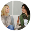 women in group therapy